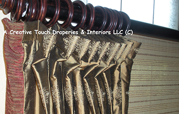 drapery pleating styles